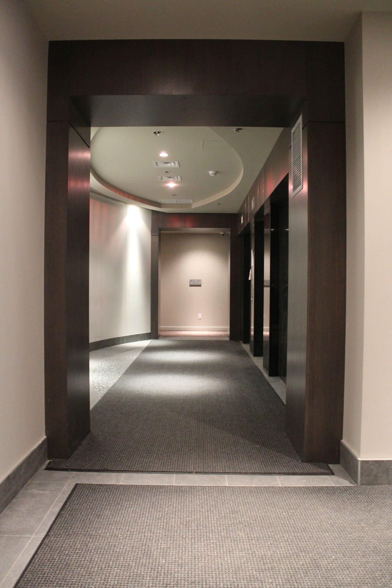 Interior view of entrance matting at Patricia Avenue