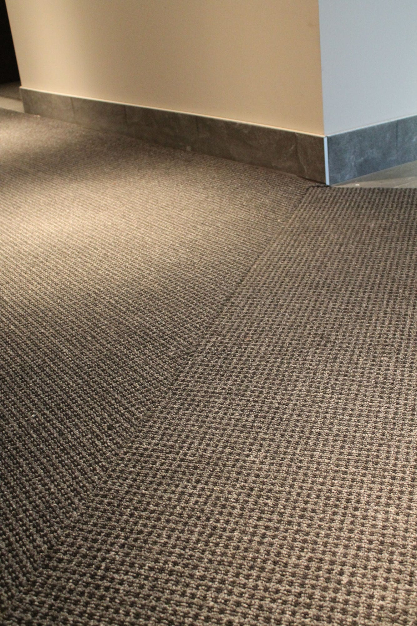 Close up view of interior view of entrance matting at Patricia Avenue